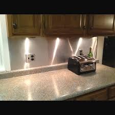 Our Low Budget Kitchen Backsplash Aluminum Roof Flashing - Aluminum backsplash
