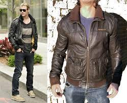 superdry biker jackets worn by chris hemsworth brad lite er leather jacket mens brown superdry hoos superdry bags in stock