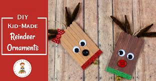diy reindeer ornaments and reindeer picture books list