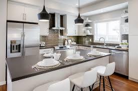 Kitchen Island Calgary Gorgeous Tom Dixon Lighting Trend Calgary Modern Kitchen