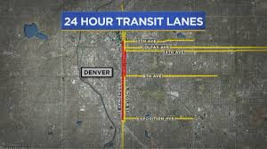 Denver Traffic Map Big Changes Coming To Lincoln And Broadway Downtown Cbs Denver