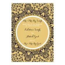 modern hindu wedding invitations template modern hindu wedding invitation gold black 2