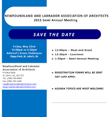 news and events newfoundland and labrador association of architects