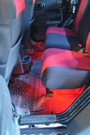 jeep wrangler unlimited interior lights adding colored interior lights jeep wrangler pinterest color