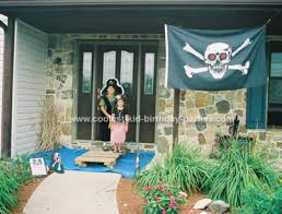 Pirate Decoration Ideas Coolest Pirate Birthday Party Ideas For A 7th Birthday Party