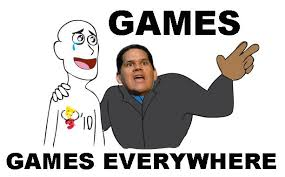 Everywhere Meme - nintendo e3 response everywhere meme