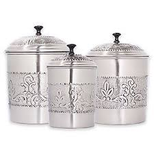 stainless steel kitchen canisters sets stainless steel kitchen canister sets ebay