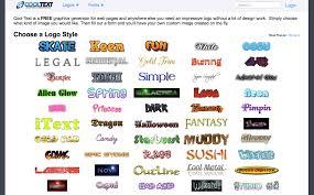 design a custom logo free online online text logo generator 5941