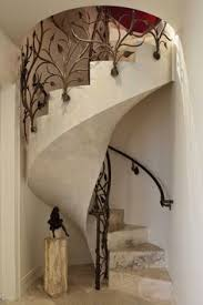 Iron Banisters Carved Stairs Iron Railing For The Home Pinterest Beautiful