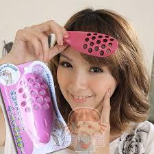 clip on bangs hair care salon japanese doll bangs fringe pvc clip ebay