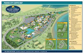 Map East Coast Florida by Gulf Coast State College Campus Maps