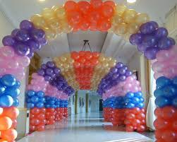 arch decoration supplies balloon decoration singapore party