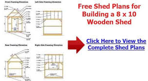 Free Wood Shed Plans Materials List by Build How To Build A 10 14 Wood Shed Diy Wood Projects To Do With