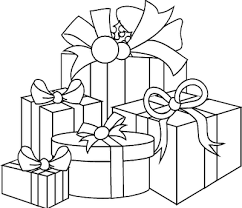 Christmas Gift Box Coloring Page Coloring Pages Box Coloring Pages