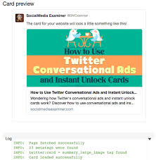 Card For Business Cards How To Use Twitter Cards For Business Social Media Examiner