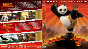 kung fu panda double feature blu ray cover 2008 2011 r1 custom