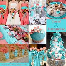 turquoise wedding turquoise wedding color seven combinations summer