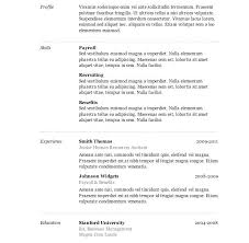 classic resume template classic resume template word clean executive collaborativenation