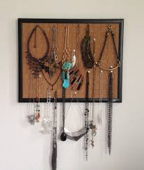 jewelry holder necklace images Pin your necklaces the easiest diy jewelry holder beauty and sass jpg