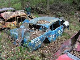 car junkyard portland nascar cars in junk yards bing images the facination of rust