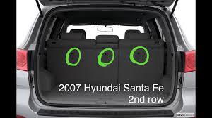 hyundai santa fe 2nd the car seat hyundai santa fe