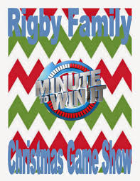 mickie u0027s masterpieces rigby family minute to win it christmas