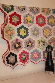 flower garden quilt pattern 36 best grandma u0027s flower garden quilt images on pinterest flower