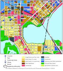Madison Map Madison Neighborhood Profile Monona Bay Neighborhood Association