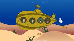 the beatles yellow submarine animated song for childrens