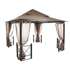 Patio Gazebos For Sale by Hampton Bay 12 Ft X 12 Ft Harbor Gazebo Gfs01250a The Home Depot