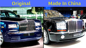 rolls royce engine logo top 10 luxurious chinese copycat cars you wont believe this