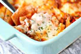 easy cheesy pasta bake with sausage and peppers cravings of a