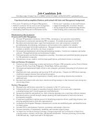 Manager Job Description Resume by Facility Manager Job Description Resume Resume For Your Job