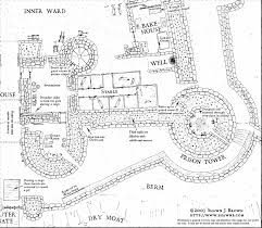 Medieval Floor Plans This Is One Of The Best Medieval Castle Layouts I U0027ve Seen But The