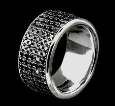 black diamond band wide black diamond band black diamond rings rings versani