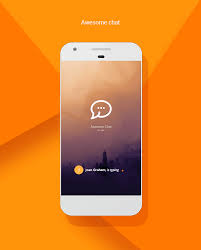 chat android awesome chat android firebase real time mobile application by