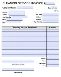 free pest control invoice template excel pdf word doc cleaning
