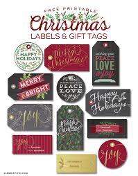 printable christmas gift tags and labels worldlabel blog