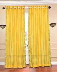 Yellow Sheer Curtains Beautiful Yellow Curtain Panels Ideas Design Ideas 2018