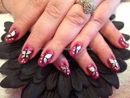 unique butterfly nail art graham reid
