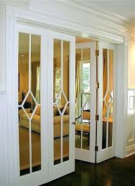 Glass Doors For Closets Mirrored Sliding Closet Doors Mirrored Sliding Wardrobe Door Pros