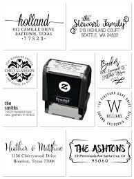 practical closing gifts custom self inking address