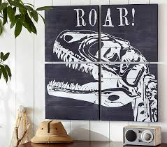 Pottery Barn Lincoln Park Diy This For Riley U0027s Room But Use A Robot Dinosaur Art Set