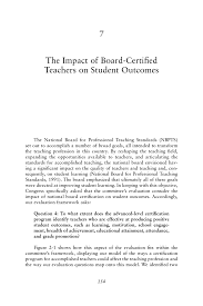 Resume Security Clearance Example by 7 The Impact Of Board Certified Teachers On Student Outcomes