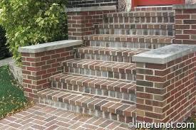 Brick Stairs Design Brick Stairs After Just Washed Brick Stairs Diy Ladyroom Club