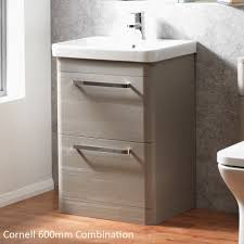 Cavalier Bathroom Furniture by Ascent Furniture Cornell 600mm Floorstanding Base Unit U0026 Basin At