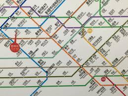 Seoul Subway Map by Strolling Through Seoul South Korea The Wayfaring Soul