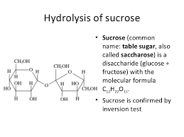 Table Sugar Formula The Characterization Of Carbohydrates