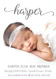 baby announcement wording baby girl birth announcements personalised new baby photo birth