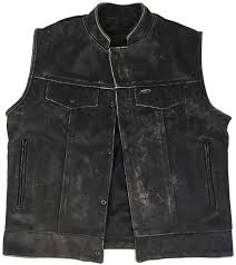 leather motorcycle jackets for sale vintage leather vest mens outlaw style motorcycle vest